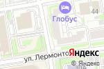 Схема проезда до компании Новосибирск-Сертификация в Новосибирске