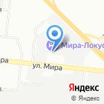Партерра на карте Новосибирска