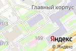 Схема проезда до компании Испытательный центр строительных материалов, изделий и конструкций в Новосибирске