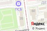 Схема проезда до компании Дом актера в Новосибирске