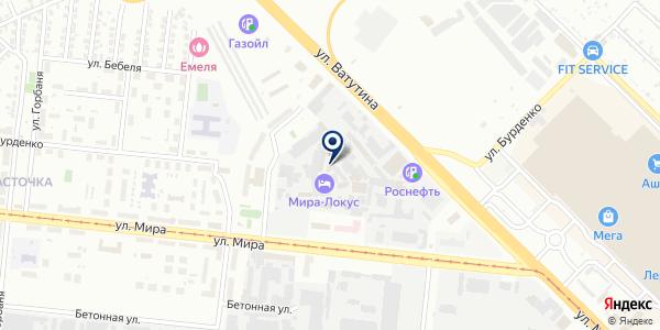 Домовой на карте Новосибирске