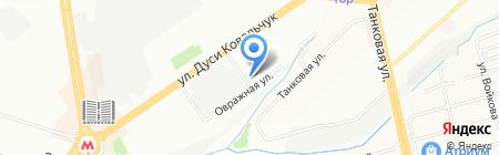 А-вент на карте Новосибирска