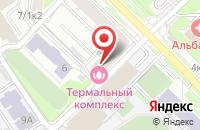 Схема проезда до компании Березка в Новосибирске
