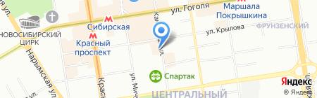 Теплицы Кормилица на карте Новосибирска