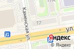 Схема проезда до компании Milan Pizza в Новосибирске