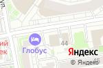Схема проезда до компании Некрасова 42 в Новосибирске