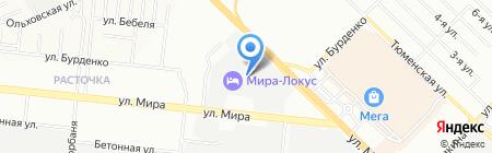 Кладовые Сибири на карте Новосибирска