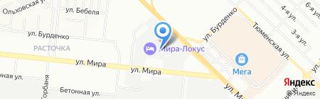 Грундфос на карте Новосибирска