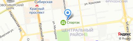 Фемида мебель на карте Новосибирска