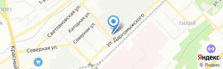 E-TOP на карте Новосибирска