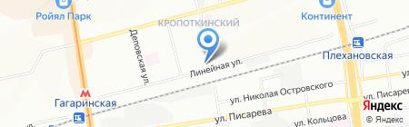 Компания Фито на карте Новосибирска