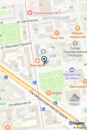 НОВОСИБИРСКИЙ МЕТРОПОЛИТЕН на карте Новосибирска