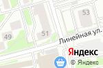 Схема проезда до компании РКП в Новосибирске