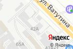 Схема проезда до компании Ленск Логистика в Новосибирске