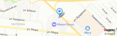Строительные материалы-Сибирь на карте Новосибирска