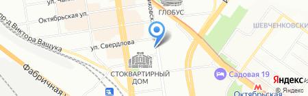 СУ-9 ИНВЕСТ на карте Новосибирска