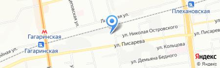 ВодаДа! на карте Новосибирска