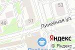 Схема проезда до компании Линия и Цвет в Новосибирске