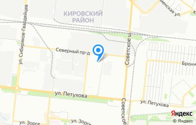 Местоположение на карте пункта техосмотра по адресу г Новосибирск, ул Сибиряков-Гвардейцев, д 49/4