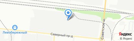 Андор на карте Новосибирска