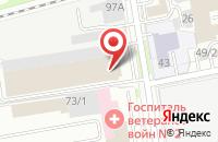 Схема проезда до компании Типография  в Новосибирске