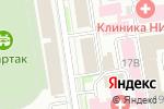 Схема проезда до компании СибСтройКонсалтинг в Новосибирске