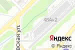 Схема проезда до компании АвтоБлеск в Новосибирске