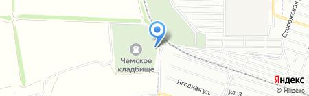Ритуальное хозяйство на карте Новосибирска