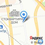 ПроффКом на карте Новосибирска