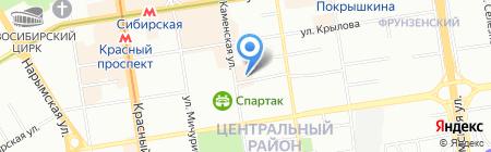 Five Seasons на карте Новосибирска