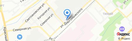 Армадасервисгрупп на карте Новосибирска