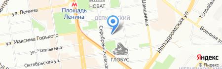 Детский сад №135 Речецветик на карте Новосибирска