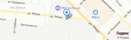 Уралтрубторг-Сибирь на карте Новосибирска