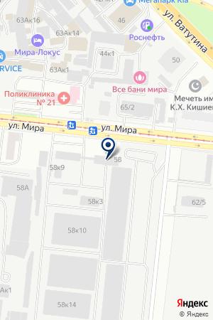 ТРАНСПОРТНАЯ КОМПАНИЯ ТОЭК СИБИРСКИЙ на карте Новосибирска