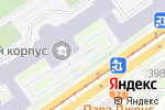 Схема проезда до компании Геология, основания и фундаменты в Новосибирске