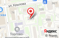 Схема проезда до компании Новосибнефтегазгеофизика в Новосибирске