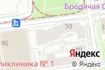 Схема проезда до компании Де-Факто в Новосибирске