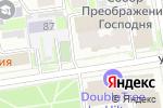 Схема проезда до компании Кольцовская мебель в Новосибирске