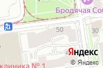 Схема проезда до компании Генбанк в Новосибирске