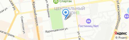 0w40.ru на карте Новосибирска