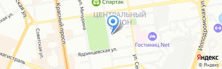 Цены по карману на карте Новосибирска