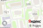 Схема проезда до компании Экойл в Новосибирске