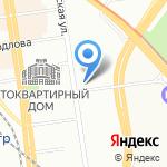 ВТО на карте Новосибирска