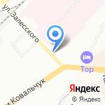 Тигра на карте Новосибирска