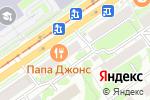 Схема проезда до компании Easypay в Новосибирске