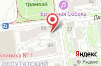 Схема проезда до компании РИМ-Омск в Новосибирске