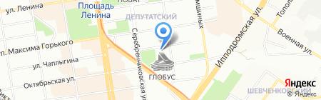 Кар Моторс на карте Новосибирска