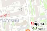 Схема проезда до компании Ди-Лерье в Новосибирске