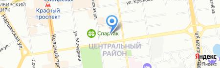 Наш рай-on на карте Новосибирска