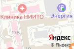 Схема проезда до компании Новая школа в Новосибирске
